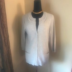 J. jill silk blend sweater  neutral color